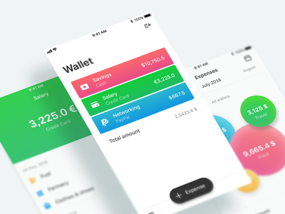 Finance By Divulture costs analytics banking ios budget money ui ux app mobile expenses finance