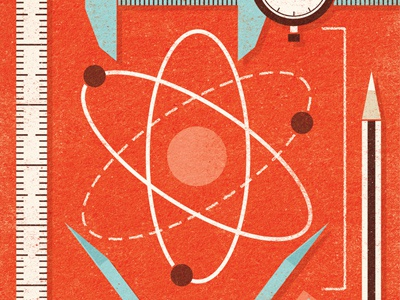 i Magazine - Nuclear Reactor Testing illustration editorial magazine nuclear reactor testing safety