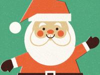Crafty Santa (Printed)