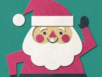 Crafty Santa (Fuzzy Felt)