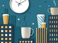 Paper Showcase - Late-Night Cafe Culture