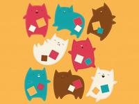 Oddcats! Poses