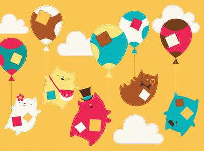 Oddcats! Illustrations