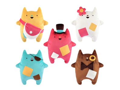 Oddcats! Plush Toys