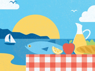 AARP Bulletin - 99 Ways to Add Healthy Years to Your Life healthy diet lifestyle health food magazine editorial design illustration