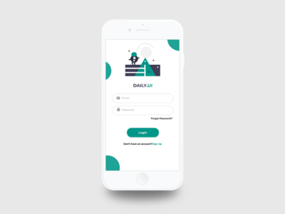 Login Page-Daily UI Challenge