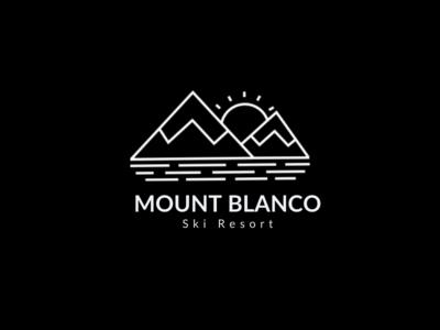 Logo Design-Mount Blanco