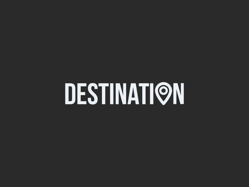 Destination wordmark