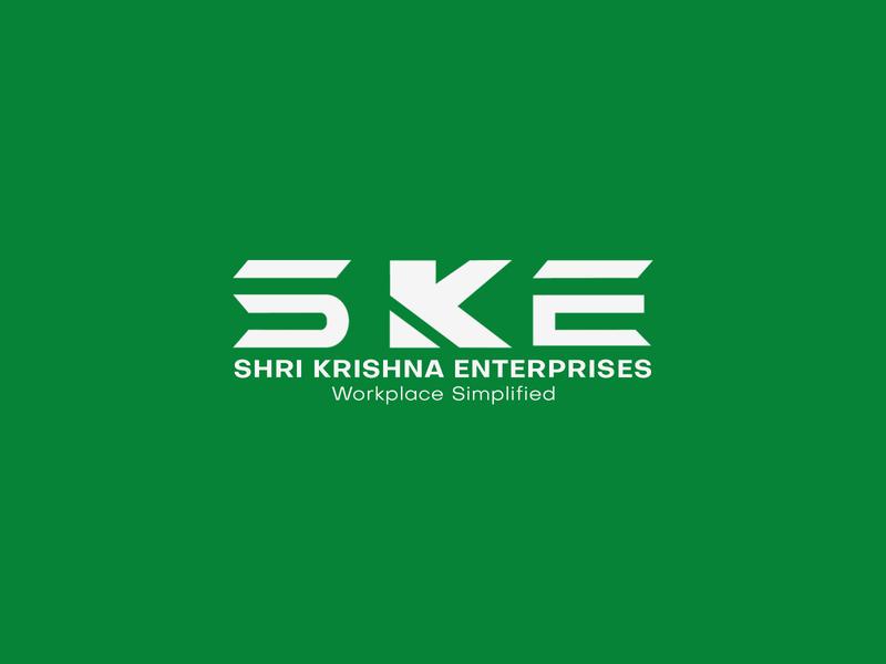 Logo Design for Shri Krishna Enterprises brand typeface branding design enterprise brand design logo design brand identity branding logomark logotype logodesign logo vector