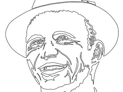 Frank Sinatra // papercut WIP paperart handcut portrait paper cutting paper cut paper art paper