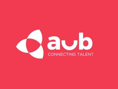 AuB Talent Mono Logo icon logotype recruitment 2020 design branding simple mono inspiration minimal logo