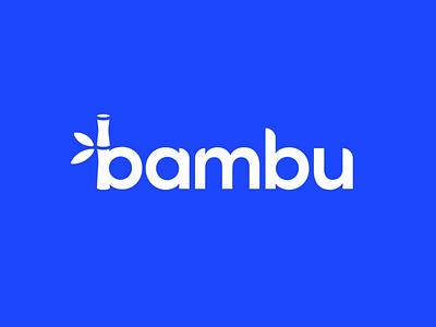 Bambu Logo Design logo design inspiration 2020 bamboo brand minimal design logo