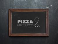 Pizza & Prosecco Logo