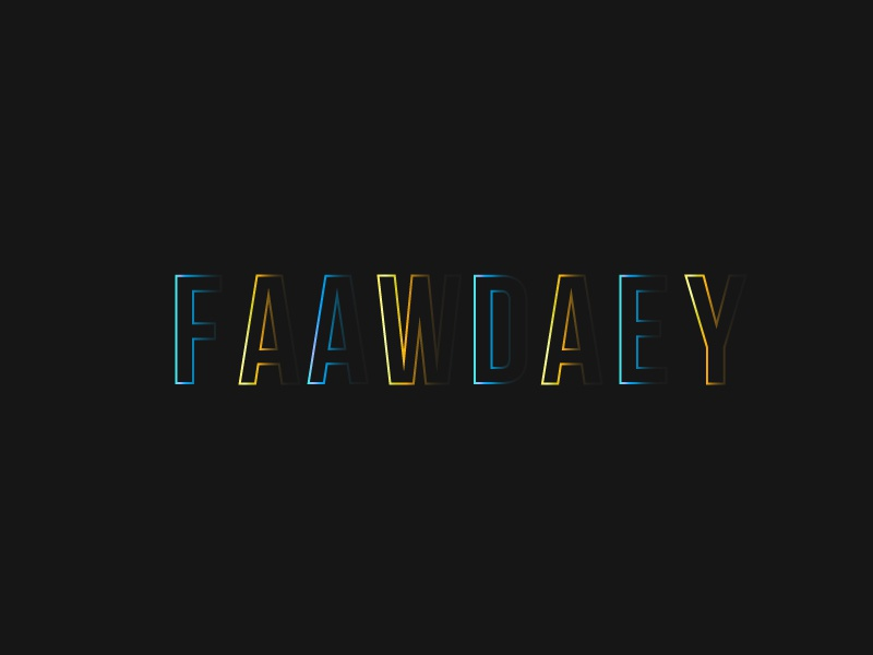 FADE AWAY TYPE by Jake Wetton | Dribbble | Dribbble
