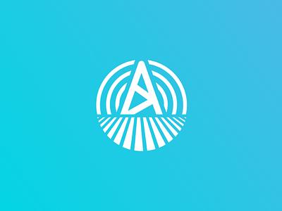 Solar Energy Logomark brand circle logo logo design simple logo modern logomark logo energy