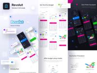 Revolut version 2 UX study live on BEHANCE