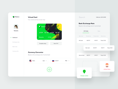 Platora dashboard part 3 bank currency team receipt spending solution expense management corporate company card minimal trending card credit debit design cards illustrations icons sharma neel prakhar user experience userinterface dashboard ui dashboard website web