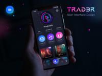 Trad3r case study live on BEHANCE presentation case study behance tags rewards music profile apple android ios icon user illustration trading social application mobile app design sharma neel prakhar