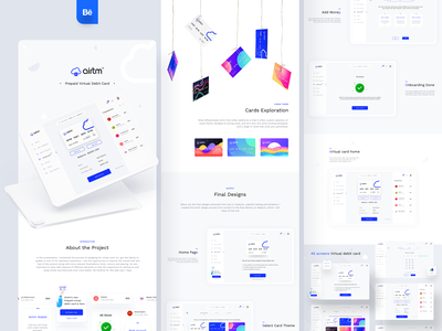 Airtm case-study live on BEHANCE design figma xd sketch dashboard illusttrations web ios website behance presentation casestudy transfer money transfer currency exchange e-wallet cross border payment currency credit debit card credit cards sharma neel prakhar