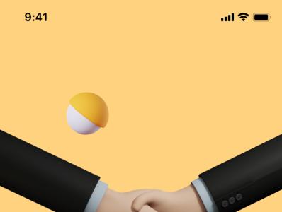Onboarding for a social app (WIP) ux jobs professional welcome privacy security 3d designer social media friends onboarding social dashboard ios design illustration ui app sharma neel prakhar