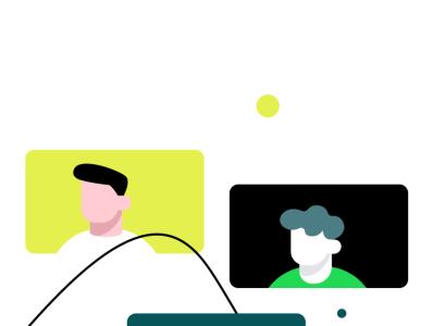 Onboarding for a social app 2 (WIP) privacy network ux walkthrough onboarding chat friends people group social media social design icon ios illustration app ui sharma neel prakhar