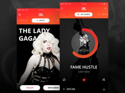 JBL multi room app (app concept for Harman)