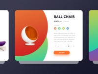 Ball Chair Cards !dea