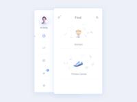 Find + Sidemenu from Medical app (Medicure)