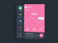 Finance_app (Graph+Sidemenu)