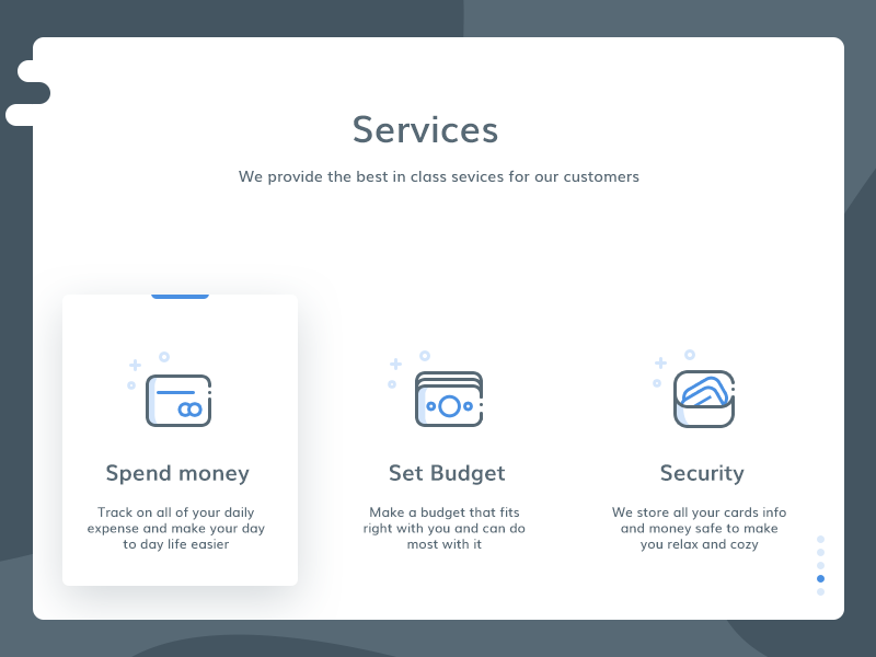 Services section from web (unused element part 8 )