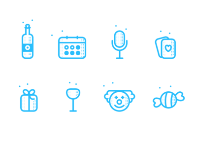 Add event icons for illustrations