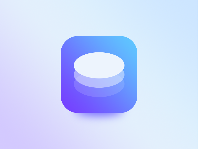 Oval Form App icon save edit new create ui forms icon app oval