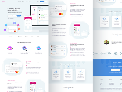 Pleo.io website ( Updated version ) expense security receipt android ios fintech bank credit card ui web pleo