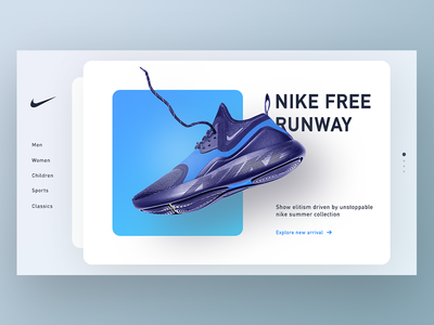 Nike New SUMMER Arrival Concept arrival concept air classic summer winter collection card cards men women child web shoes nike