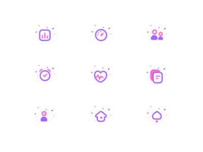 Icons set For education Website (Unused element part 21)