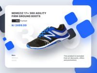 Shoes card concept