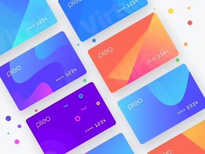 Pleo Virtual Cards Exploration 1