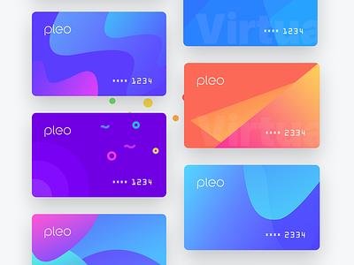 Pleo Virtual Cards Exploration 1 money credit debit card bank finance cash virtual plastic cards