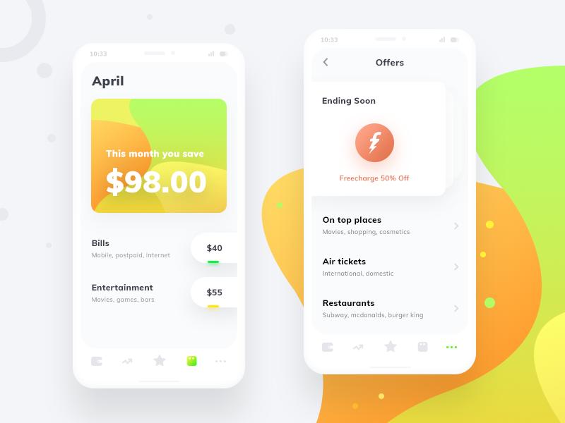 Smart Expense (A small renovation) deposit saving more wallet trending home calendar offers fintech finance money cash