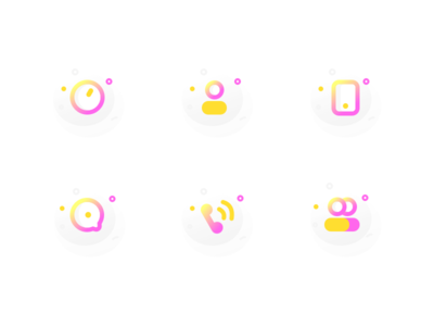 Icons Exploration for Otis Services