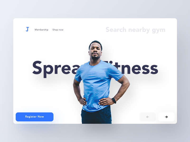 Fitness Web Header Exploration (Unused element part 28) exercise activity gymnastic people health gym group ui header web fitness