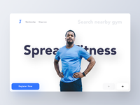 Fitness Web Header Exploration (Unused element part 28)