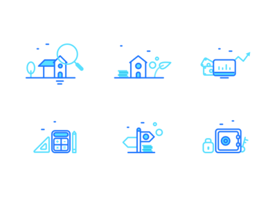 Brickshare Illustrations for web