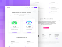 Pricing page firststep