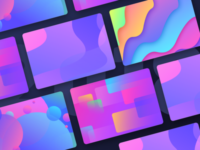 Gradients and textures for cryptocurrency project colour colors card carddesign neel prakhar money cash crypto currency crypto christmas newyear 2018 field text textures gradient gradients