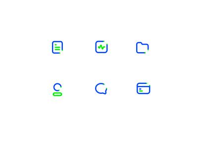 Documentation app : Icons green blue user debit credit card talk chat status icon folder icon logo projects folder sharma neel prakhar home app documents
