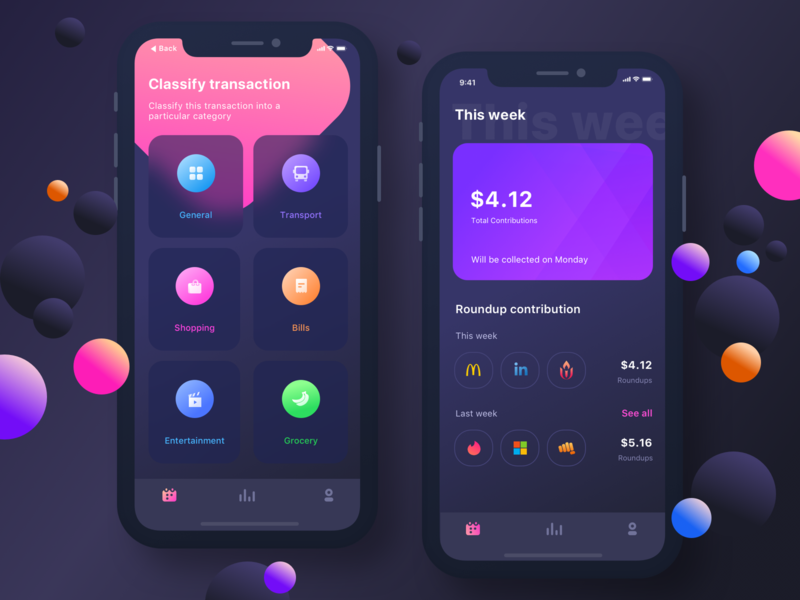 INvestment app (Firststep) invest investment app apps application app ios android windows prakhar neel sharma night dark night mode application ui uidesign security category transport shopping entertainment