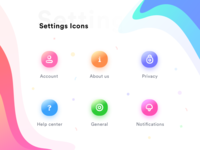 Settings page icon