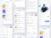 Documentation app screens