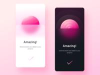 Success modal for documentation app